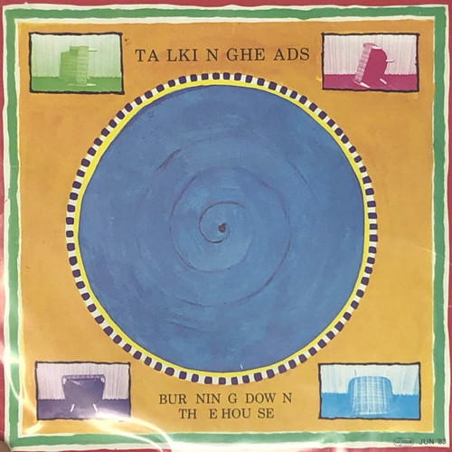 """Talking Heads - Burning Down The House (7"""" Single VG)"""