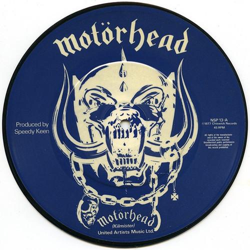 """Motörhead - Motörhead (UK 1977 7"""" Picture Disc Single)"""