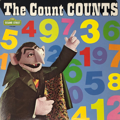 Sesame Street - The Count Counts (-VG)