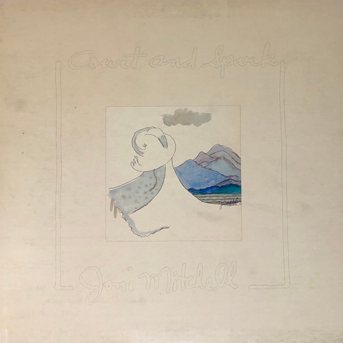 Joni Mitchell - Court and Spark (VG)