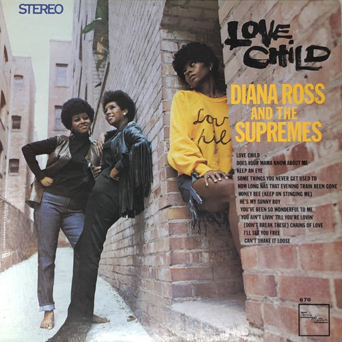 Diana Ross and The Supremes - Love Child (1st Canadian Stereo VG)