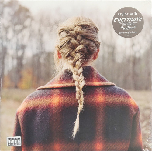 Taylor Swift - Evermore (deluxe green vinyl)