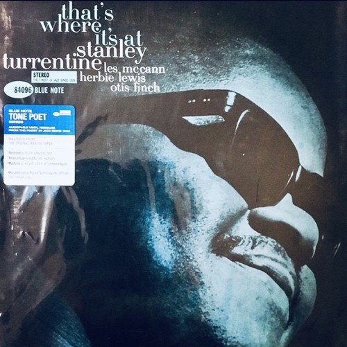 Stanley Turrentine - That's Where It's At (Back in stock!)