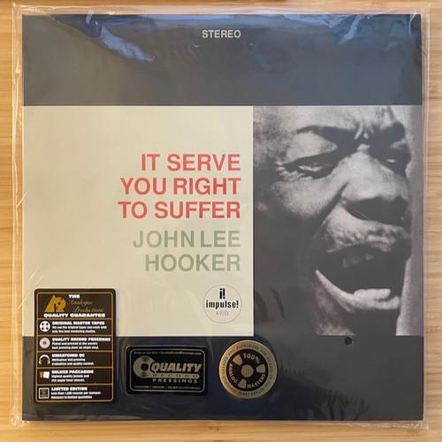 John Lee Hooker - It Serve You Right To Suffer (45rpm 180g QRP )