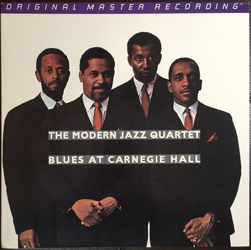 The Modern Jazz Quartet - Blues At Carnegie Hall (Out of Print MoFi numbered)
