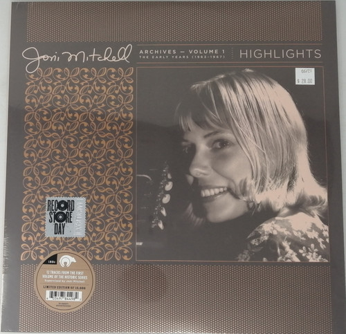 RSD2021 - Joni Mitchell - Archives Volume 1: The Early Years (1963-1967) (1 per customer)