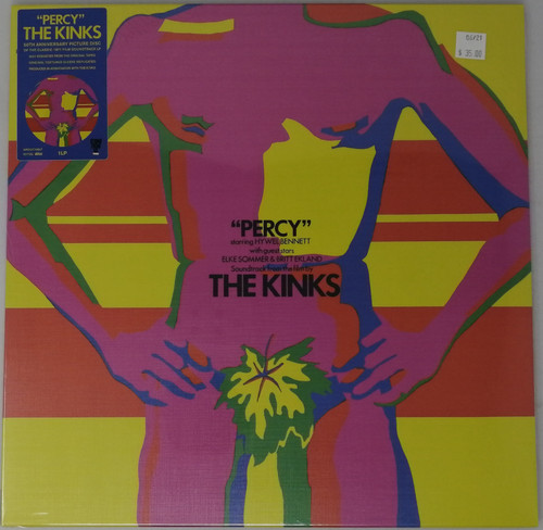 RSD2021 - Kinks - Percy (50th Anniversary Picture Disc)  (1 per customer)