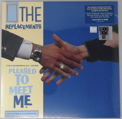 RSD2021 - The Replacements - The Pleasure's All Yours (Outtakes & Alternates) (1 per customer)