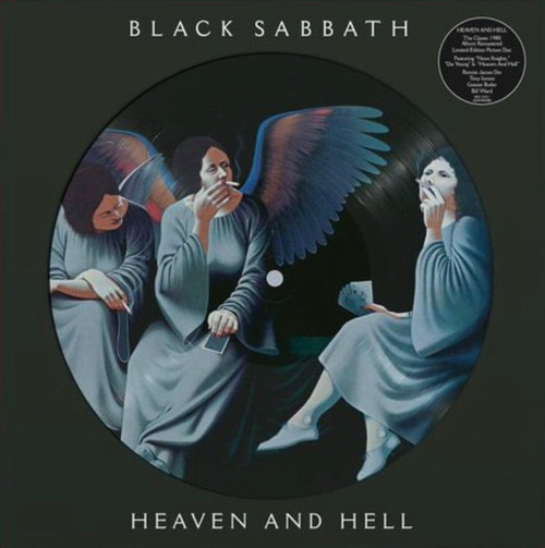 RSD2021 - Black Sabbath - Heaven And Hell (picture disc) (1 per customer)