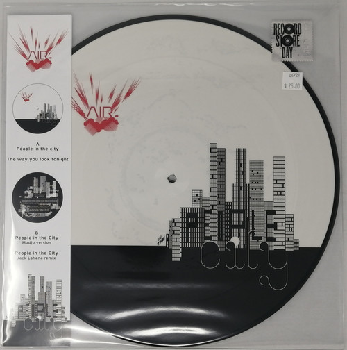 RSD2021 - Air - People In The City (picture disc) (1 per customer)