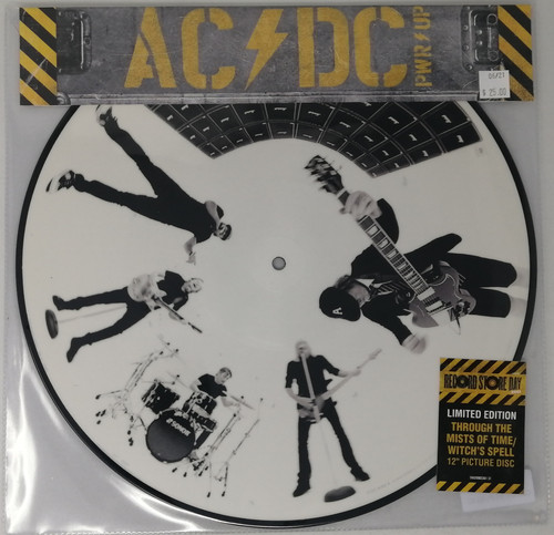RSD2021 - AC/DC - Through The Mists Of Time/Witches Spell (picture disc) (1 per customer)