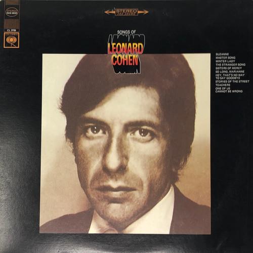 Leonard Cohen - Songs of Leonard Cohen (Late 70's Reissue)