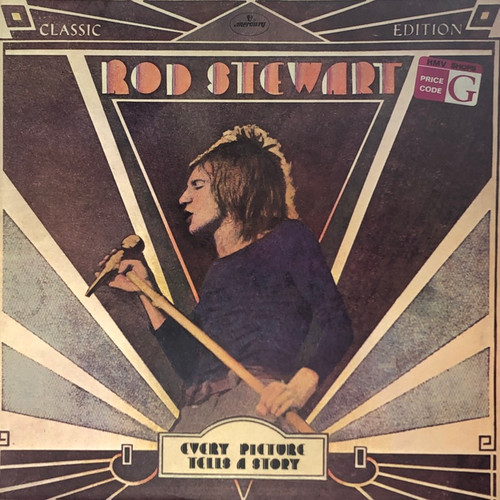 Rod Stewart - Every Picture Tells a Story (UK Pressing on Black Label)