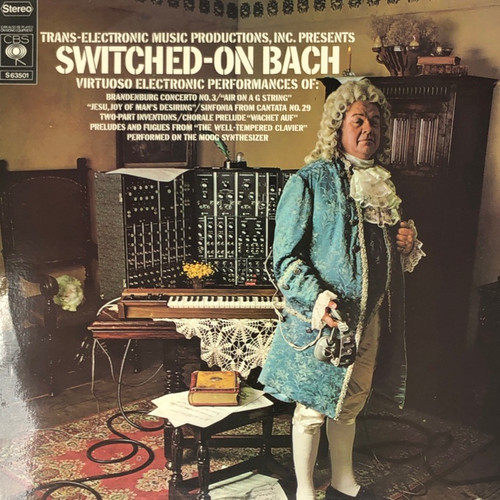Various - Switched-On Bach (UK Pressing)