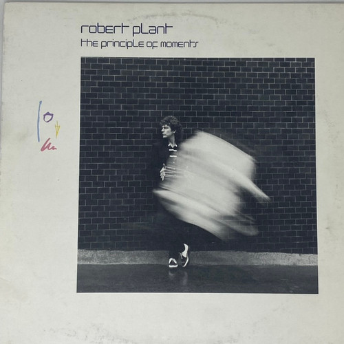 Robert Plant - The Principal of Moments (VG)