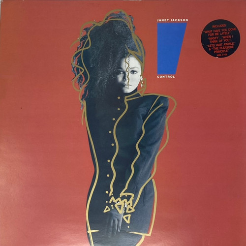 Janet Jackson - Control (UK Pressing with Hype Sticker)