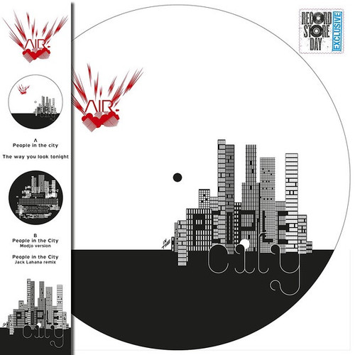 """RSD2021 - AIR - People In The City (12"""" Picture Disc Single)"""