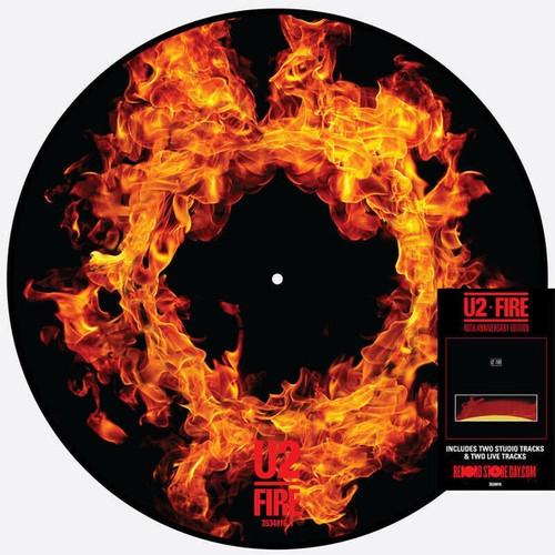 """RSD2021 - U2 - Fire (12"""" Picture Disc)"""
