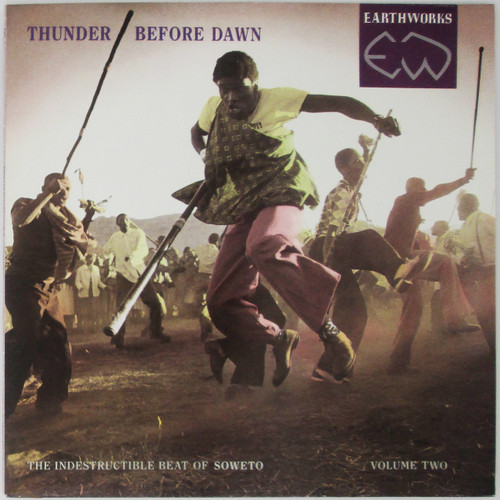 Various – Thunder Before Dawn - The Indestructible Beat Of Soweto Volume Two