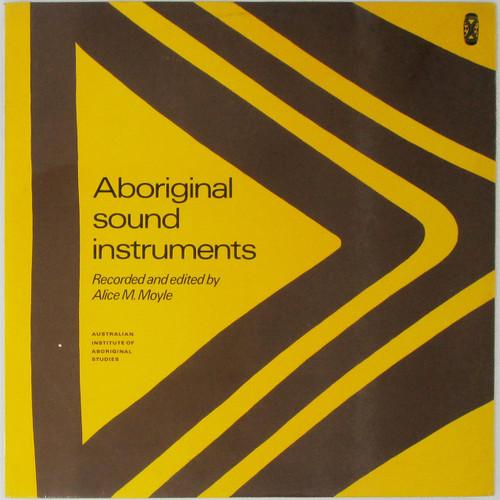 Alice M. Moyle – Aboriginal Sound Instruments