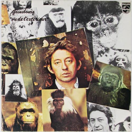 Serge Gainsbourg – Vu De L'Extérieur (VG)