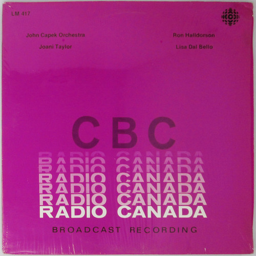 John Capek Orchestra / Joani Taylor / Ron Halldorson / Lisa Dal Bello  - Radio Canada compilation