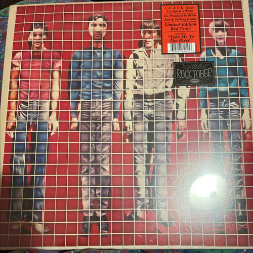 Talking Heads - More Songs about Buildings and Food Limited Edition Red Vinyl