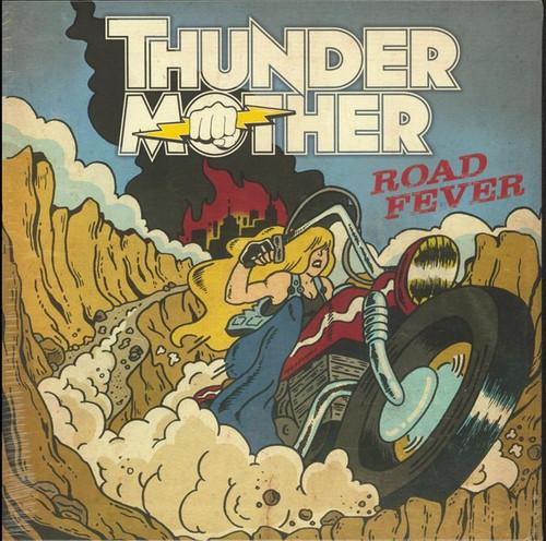 Thundermother - Road Fever (Red Vinyl NM)
