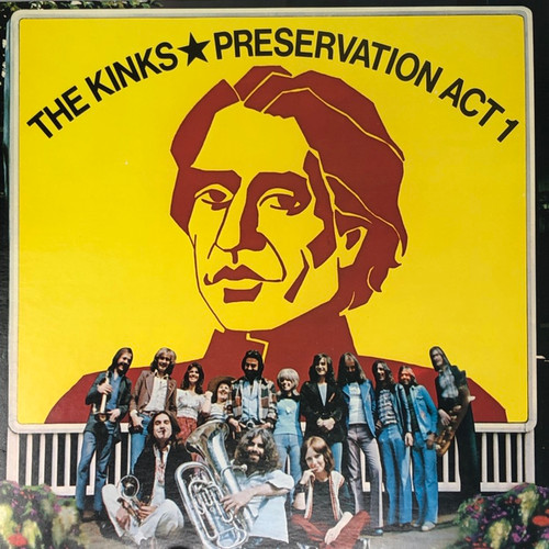 The Kinks - Preservation Act 1 (1st Canadian Pressing with Insert VG+)
