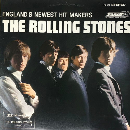 The Rolling Stones - England's Newest Hit Makers (Mid-70's Reissue with Poster -VG)