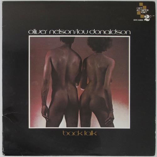 Oliver Nelson / Lou Donaldson – Back Talk (double LP)