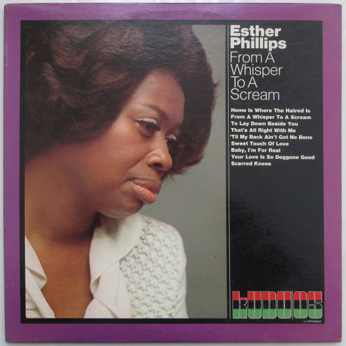 Esther Phillips  -  From a Whisper to a Scream (restocked)
