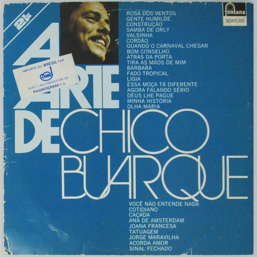 Chico Buarque – A Arte De Chico Buarque (Double LP)