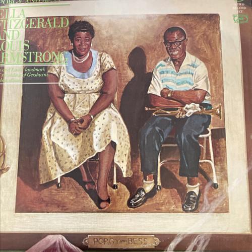 Ella Fitzgerald - Ella Fitzgerald And Louis Armstrong (2LP compilation NM)