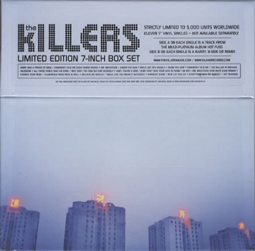 The Killers - Hot Fuss (Limited Edition Numbered 7-Inch Box Set #609)