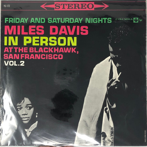 Miles Davis - In Person, Saturday Night At The Blackhawk, San Francisco, Vol.2 (1961 Stereo Japanese Pressing - Six Eye)