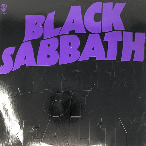 Black Sabbath - Master of Reality (Embossed Canadian 1st Pressing)
