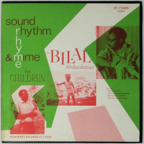 Bilal Abdurahman – Sound, Rhythm, Rhyme & Mime for Children