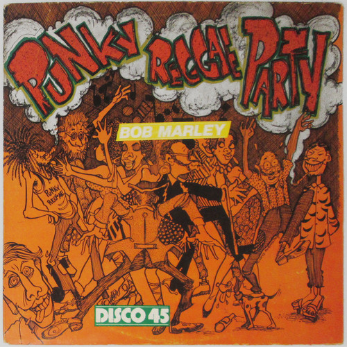"Bob Marley & Lee Perry – Punky Reggae Party (12"" single)"