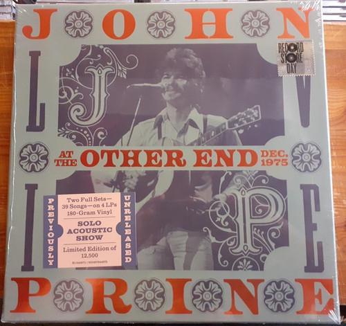 John Prine - Live At The Other End Dec. 1975 (RSD 2021 1 per customer)