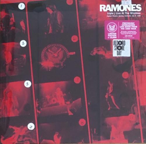 Ramones - Triple J Live At The Wireless - Capitol Theatre, Sydney, Australia, July 8, 1980 (RSD 2021 one per customer)