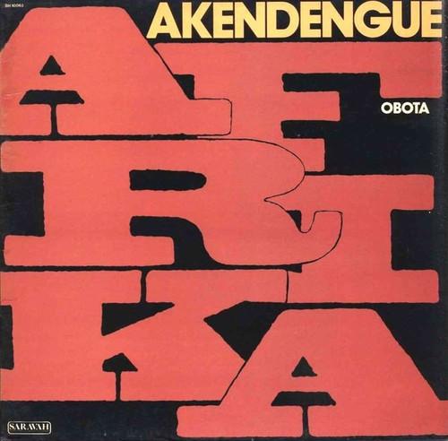 Pierre Akendengue - Afrika Obota (French Import NM)