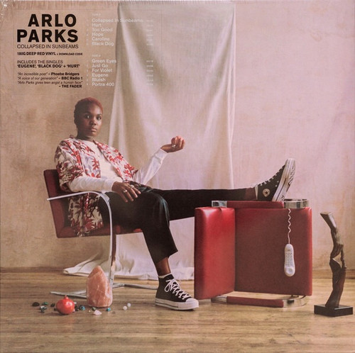 Arlo Parks - Collapsed in Sunbeams (Deep Red Vinyl Edition)