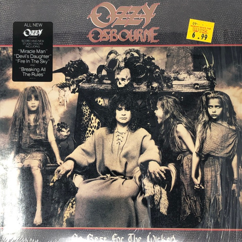 Ozzy Osbourne - No Rest For The Wicked (US 1988 Open Shrink with Hype Sticker)
