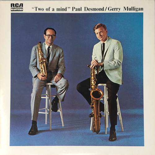 Paul Desmond / Gerry Mulligan - Two Of A Mind (Early France Reissue)