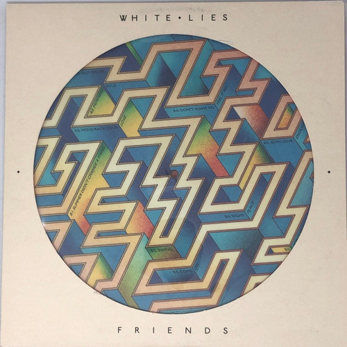 White Lies - Friends (UK 2016 Picture Disc)