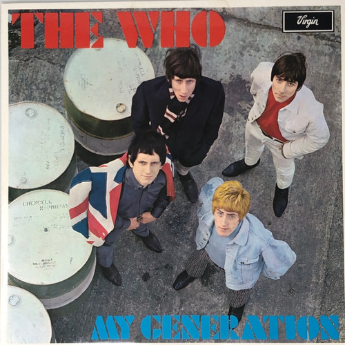 The Who - My Generation (1980 UK Mono Reissue NM)
