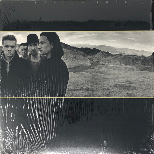 U2 - The Joshua Tree (Canadian Club Edition in Open Shrink NM)