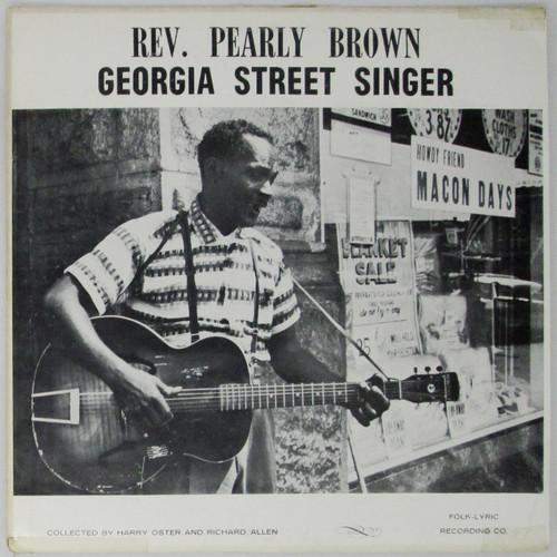 Rev. Pearly Brown  –  Georgia Street Singer
