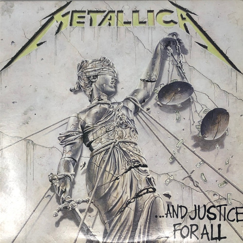 Metallica - … And Justice For All (1st Canadian Pressing -VG)